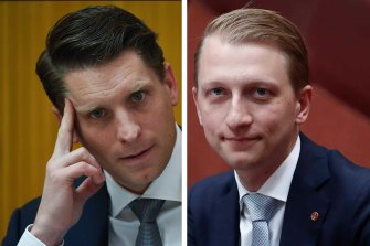 Liberal MP Andrew Hastie and his government colleague, Senator James Paterson, have been denied visas to visit China.