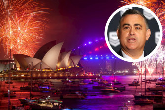 NSW Deputy Premier John Barilaro believes the cancellation of the New Year's Eve fireworks is inevitable.