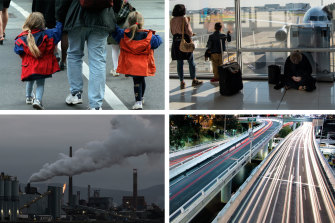 Budget winners include families and infrastructure. The environment is a loser.