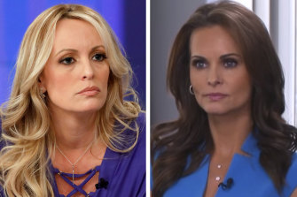 Stormy Daniels and Karen McDougal have each said they had sex with Donald Trump before he was President, and Cohen alleges that both were paid off.