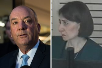 Former MP Daryl Maguire and Gladys Berejiklian both gave evidence to the ICAC last year.