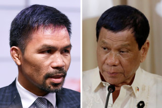 Manny Pacquiao is now a contender to succeed Rodrigo Duterte in next year's presidential election.