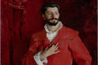 Dr Pozzi at Home. Painted in 1881 by John Singer Sargent.