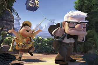 Carl and Russell in Up.