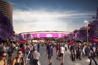 Having the main Olympics stadium 2 kilometres from the CBD and linked to a major public transport hub will give Queensland an advantage over other potential Games hosts, Ms Palaszczuk says.