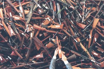 The total number of registered guns in NSW, including those registered to clubs, collectors and dealers, has steadily increased by 11 per cent over four years, from 920,000 in December 2016 to 1,022,740 in December 2020.