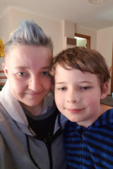 Melissa Leaver says she is worried about the future of NDIS funding for her son, Luca, who is living with autism.