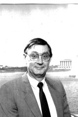ACT City Manager John Turner pictured in 1988.
