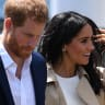 Crowds turn up the charm for Harry and Meghan's visit