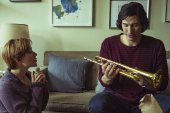 Dissecting marriage: Scarlett Johansson and Adam Driver in Marriage Story.