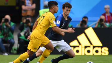 561c67183 Daniel Arzani became the youngest Socceroos player to appear at a World Cup  on Saturday night