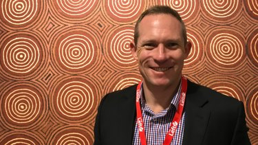 Housing and Public Works minister Mick de Brenni at the 2019 ALP conference.