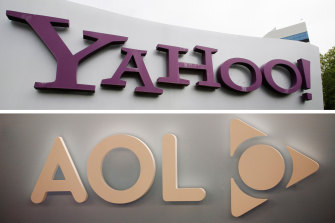 Sold again: Yahoo and AOL.