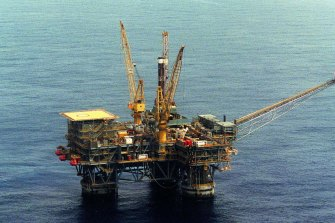 ASX-listed Beach Energy posted a 54 per cent dive in first-half profit.