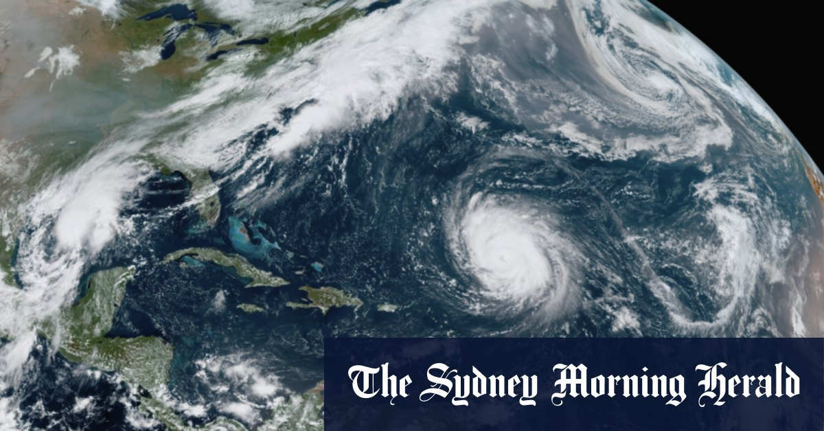 Greek to the rescue as US runs out of hurricane names – Sydney Morning Herald