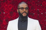 Unlikely hero in a royal saga: actor, director and author Tyler Perry.