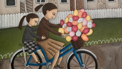 Seven sisters, two brothers and an adopted joey: Therese Shanley's art