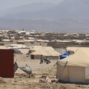 In the Herat camps, organisations such as UNICEF have established basic services.
