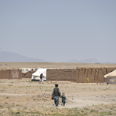 The Regreshan camp in Herat Province, Afghanistan.