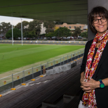 Educational design and human ecology expert Samantha Graham helped steer the South Sydney Rabbitohs to the 2014 NRL flag.