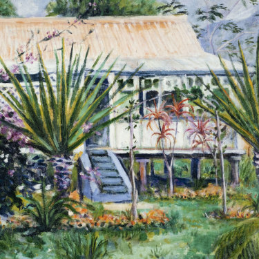 Cane farmer's house (North Queensland) 1955 by Margaret Olley.