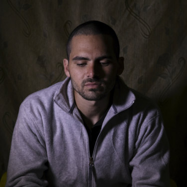 Australian IS member and airconditioner serviceman Mohammed Noor Masri in a Kurdish prison.