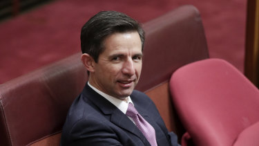 "Trade and Tourism Minister Simon Birmingham said Qantas was making a ""blatant attempt to extract taxpayer dollars from the states and territories""."