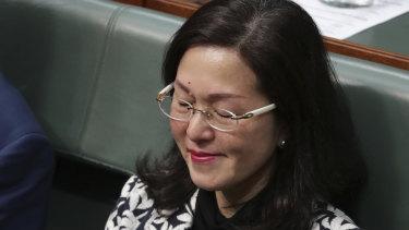 Gladys Liu in Federal Parliament.