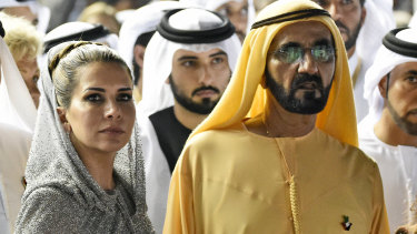Princess Haya and Sheikh Mohammed Bin Rashid al-Maktoum in 2016.