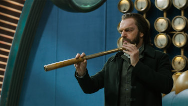 The perfect villain: Hugo Weaving.