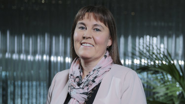 Bendigo Bank chief executive Marnie Baker delivers the bank's half-year results.