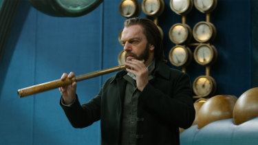 Hugo Weaving in Mortal Engines.