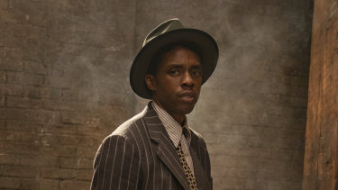 Posthumous nomination for best actor: Chadwick Boseman in Ma Rainey's Black Bottom.