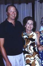 David Hunt and his wife Margaret.