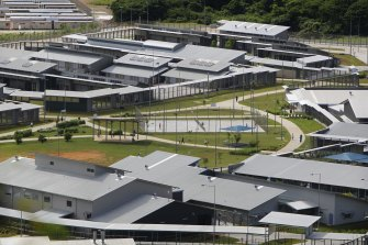The federal government has rejected a request to quarantine overseas workers at Christmas Island.