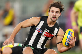 Josh Daicos is back for the Pies.