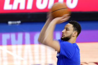 Ben Simmons is unlikely to join the 76ers at a training camp, and wants to leave.