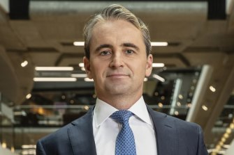 """CBA chief executive Matt Comyn: """"We want to be the trusted partner at the centre of our customers' financial lives."""""""