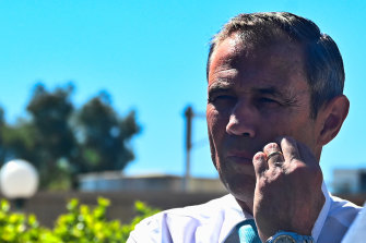 Health Minister Roger Cook says the current hospital predicament is a challenge.