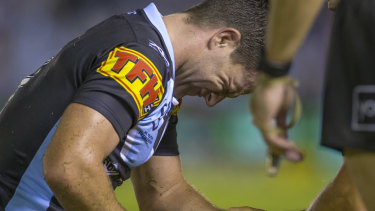 It's been a painful run for Chad Townsend and the Sharks.