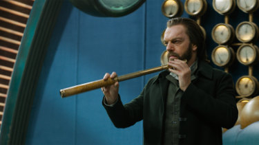 The perfect villain: Hugo Weaving.
