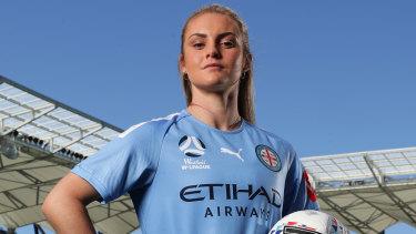Ellie Carpenter is a key signing for Melbourne City.