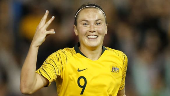 Foord bags hat-trick as Matildas beat Chile 5-0 with late blitz