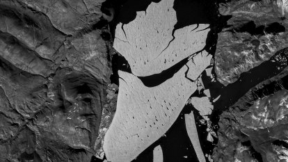 'High meltdown': huge chunk of Greenland's ice breaks off