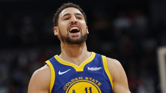 NBA wrap: Warriors break NBA first-quarter record