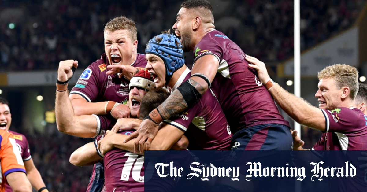 O'Connor try after the siren seals Reds win in thrilling final – Sydney Morning Herald