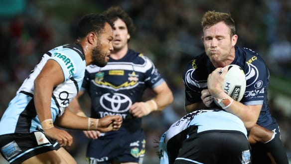 Sharks still smarting from Cowboys' 'dirty tactics' sledge