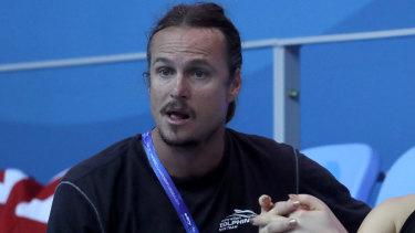 Australian swimming coach Dean Boxall.