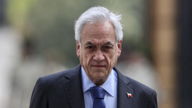 Won't resign: Chilean President Sebastian Pinera.