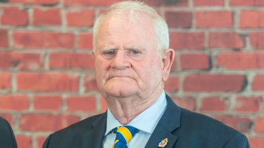 """""""This is not a decision we take lightly"""": RSL NSW President Ray James."""